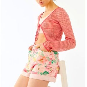 Urban Outfitters | BDG | Floral Mom Jean Shorts